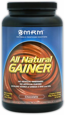 MRM, All Natural Gainer, 1497 грамм