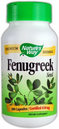 Nature's Way, Fenugreek, 100 капсул
