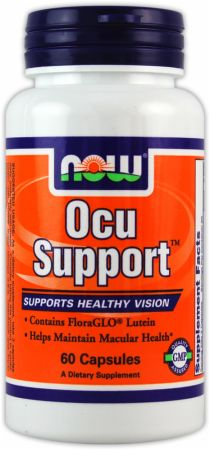 NOW, Ocu Support, 60 капсул