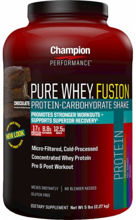 Champion, Pure Whey Fusion, 2268 грамм
