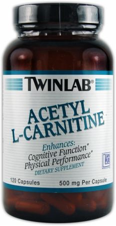 Twinlab, Acetyl-L-Carnitine, 120 капсул