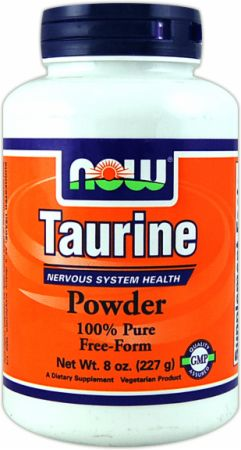 NOW, Taurine Powder, 227 грамм