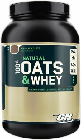 Optimum, Natural 100% Oats & Whey, 1361 грамм