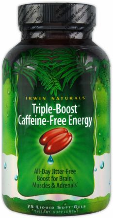 Irwin Naturals, Triple-Boost Caffeine-Free Energy, 75  капсул