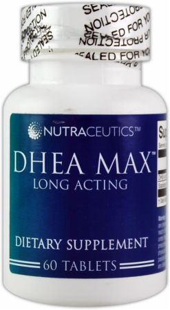 Nutraceutics, DHEA MAX, 60 таблеток