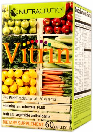 Nutraceutics, Vitrin, 60 таблеток