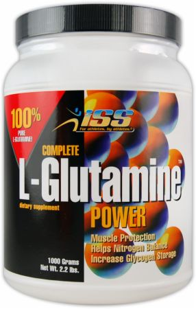 ISS Research, L-Glutamine, 1000 грамм