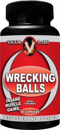 Vigor Labs, Wrecking Balls, 60 капсул