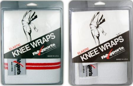 Flexsports, Elastic Knee Wraps, 198см