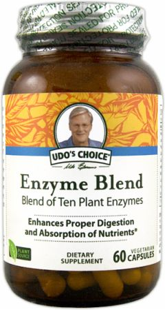 Udo's Choice, Enzyme Blend, 60 капсул
