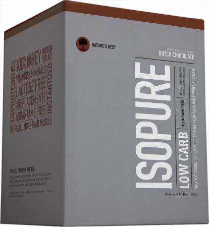 Nature's Best, Isopure Low Carb, 20 упаковок