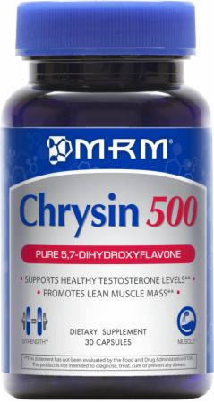MRM, Chrysin 500, 30 капсул