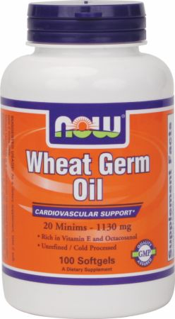 NOW, Wheat Germ Oil, 100 капсул