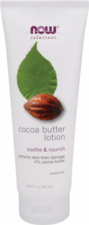 NOW, Cocoa Butter Lotion, 237 мл