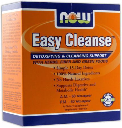 NOW, Easy Cleanse, 2 бутылки