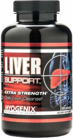 Myogenix, Liver Fix, 120 капсул