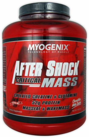 Myogenix, After Shock Critical Mass, 2550 грамм