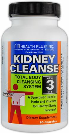 Health Plus, Kidney Cleanse, 90 капсул