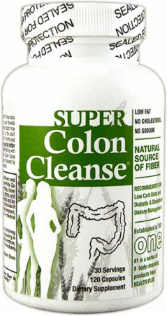 Health Plus, Super Colon Cleanse, 120 капсул