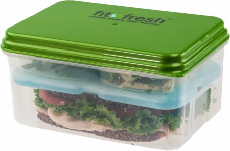 VitaMinder, Fit & Fresh Lunch On The Go Container