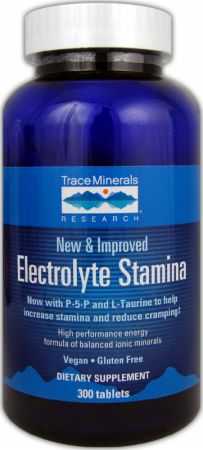 Trace Minerals, Electrolyte Stamina, 300 таблеток