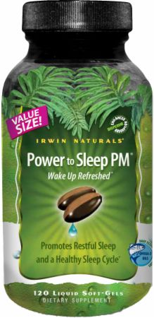 Irwin Naturals, Power To Sleep PM, 120  капсул