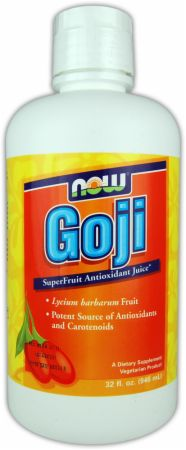 NOW, Goji Juice Concentrate, 946 мл