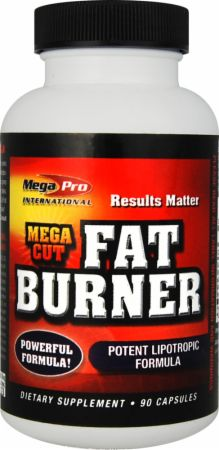 Mega-Pro, Mega Cut Fat Burner, 90 капсул