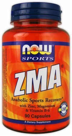 NOW, ZMA, 180 капсул