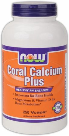 NOW, Coral Calcium Plus, 100 капсул