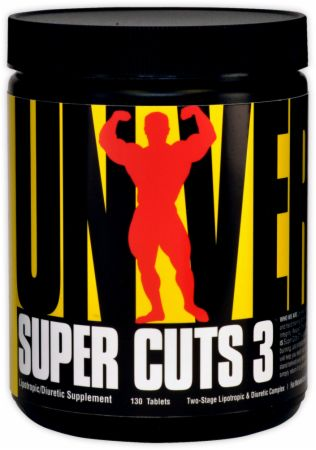 Universal Nutrition, Super Cuts 3, 130 таблеток