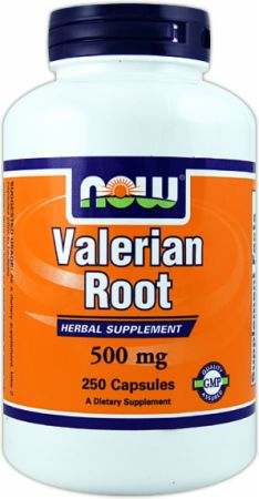 NOW, Valerian Root, 250 капсул
