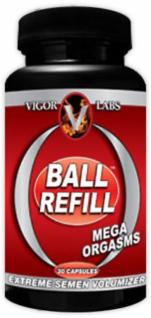Vigor Labs, Ball Refill, 30 капсул