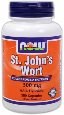 NOW, St. John's Wort, 250 капсул