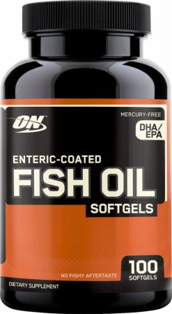 Optimum, Fish Oil Softgels, 100 капсул