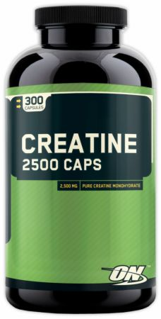 Optimum, Creatine 2500 Caps, 200 капсул