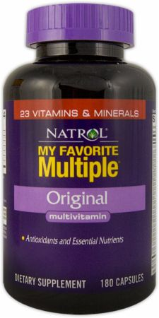 Natrol, My Favorite Multiple Original, 180 капсул