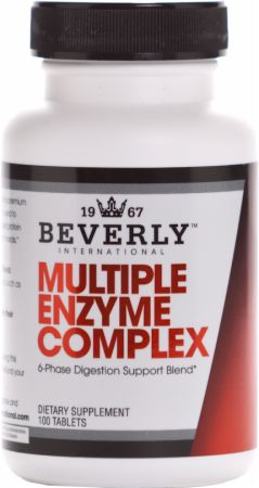 Beverly International, Multiple Enzyme Complex, 100 таблеток