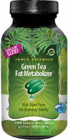 Irwin Naturals, Green Tea Fat Metabolizer, 150  капсул