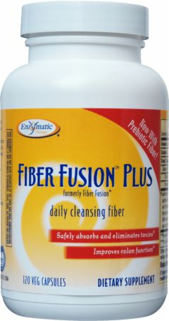Enzymatic Therapy, Fiber Fusion, 120 капсул