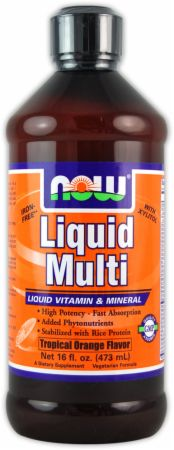 NOW, Liquid Multi, 474 мл