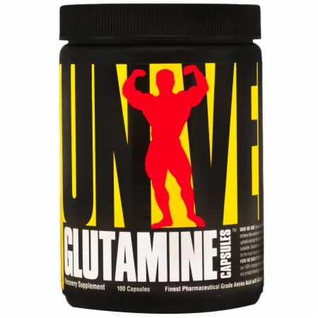 Universal Nutrition, Glutamine Capsules, 100 капсул