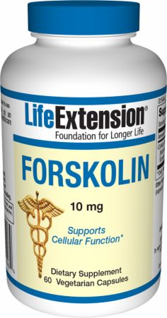 Life Extension, Forskolin, 60 капсул