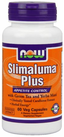 NOW, Slimaluma Plus, 60 капсул