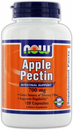 NOW, Apple Pectin, 700мг/120 капсул