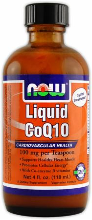 NOW, Liquid CoQ10, 118 мл