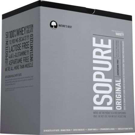 Nature's Best, Isopure Original, 20 упаковок