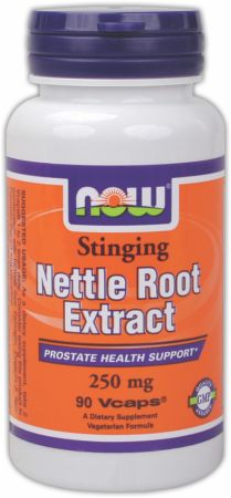 NOW, Stinging Nettle Root Extract, 250мг/90 капсул