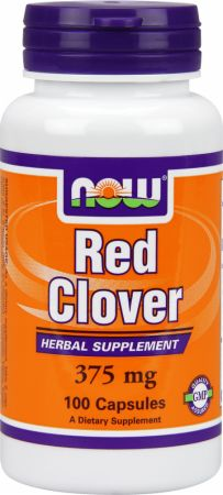 NOW, Red Clover, 375мг/100 капсул