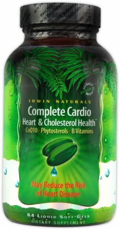 Irwin Naturals, Complete Cardio, 84  капсулы
